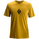 Black Diamond SS Placement Tee Men herre-T-shirt, SS Placement Tee Men herre-T-shirt, Curry