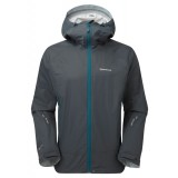 Montane Atomic Jacket regnjakke, Atomic Jacket regnjakke, Shadow/Zanskar Blue