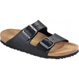 Birkenstock Arizona Oiled Leather (smal) sandal, Arizona Oiled Leather (smal) sandal, Black