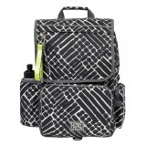 Ticket to Heaven Backpack Boy Classic skoletaske, Backpack Boy Classic skoletaske, Jet Black Grate