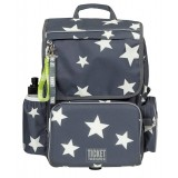 Ticket to Heaven Backpack Boy Classic skoletaske, Backpack Boy Classic skoletaske, Whisper White Stars
