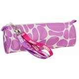 Ticket to Heaven Pencil case round Girl penalhus, Pencil case round Girl penalhus, Violet Stars
