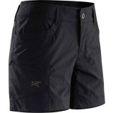 Arc´teryx Parapet Short Women's dameshorts, Parapet Short Women's dameshorts, Black