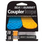 Sea to Summit Mat Coupler Kit Loops remme til luftmadrasser, Mat Coupler Kit Loops remme til luftmadrasser, Grå