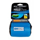 Sea to Summit Coolmax® Fitted Sheet Regular lagen, Coolmax® Fitted Sheet Regular lagen, Blå