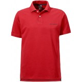 Didriksons WILLIAM MEN'S SHORT SLEEVE POLO herrepolo, WILLIAM MEN'S SHORT SLEEVE POLO herrepolo, 040/RED
