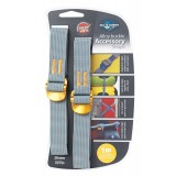 Sea to Summit Accessory Straps 20mm Webbing - 1.0m pakremme 2 stk., Accessory Straps 20mm Webbing - 1.0m pakremme 2 stk., Yellow