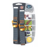 Sea to Summit Accessory Strap w/Hook 20mm 1,0m pakremme 2 stk., Accessory Strap w/Hook 20mm 1,0m pakremme 2 stk., Yellow