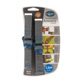Sea to Summit Accessory Strap w/Hook 20mm 1,5m pakremme 2 stk., Accessory Strap w/Hook 20mm 1,5m pakremme 2 stk., Blue