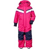 Didriksons Romme Kid's Coverall flyverdragt, Romme Kid's Coverall flyverdragt, 070/FUCHSIA