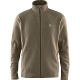 Haglöfs Astro II Jacket Men herrefleece, Astro II Jacket Men herrefleece, Driftwood