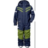 Didriksons Bark Kids Coverall, Bark Kids Coverall, Navy 039