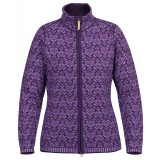 Fjällräven Snow Cardigan WMS damesweater, Snow Cardigan WMS damesweater, Alpine Purple