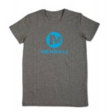 Merrell Stacked Logo Graphic Tee t-shirt, Stacked Logo Graphic Tee t-shirt, Granite