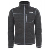The North Face SNOWQUEST PLUS FLEECE YOUTH drengefleece, SNOWQUEST PLUS FLEECE YOUTH drengefleece, TNF LIGHT GREY HEATHER