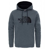 The North Face Drew Peak Pullover Hoodie Men hættetrøje, Drew Peak Pullover Hoodie Men hættetrøje, TNF Medium Grey Heather (STD)/
