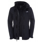 The North Face EVOLUTION II TRICLIMATE JACKET WMS damejakke, EVOLUTION II TRICLIMATE JACKET WMS damejakke, TNF BLK/TNF BLK