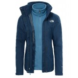 The North Face EVOLUTION II TRICLIMATE JACKET WMS damejakke, EVOLUTION II TRICLIMATE JACKET WMS damejakke, Ink Blue