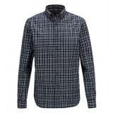 Peak Performance Eric Percard Chequered Shirt herreskjorte, Eric Percard Chequered Shirt herreskjorte, 943 Dark Slate Blue Checked