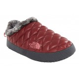 The North Face THERMOBALL TENTMULE FAUX FUR IV WMS hjemmesko, THERMOBALL TENTMULE FAUX FUR IV WMS hjemmesko, SHINY BAROLO RED/IRONGATE GREY