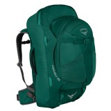 Osprey Fairview 55 rygsæk/duffel, Fairview 55 rygsæk/duffel, Rainforest Green