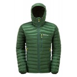 Montane Featherlite Down Jacket dunjakke, Featherlite Down Jacket dunjakke, Arbor Green/Kiwi