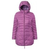 Me°ru' Eskimo Down Coat damedunjakke, Eskimo Down Coat damedunjakke, Deep Purple