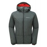 Montane Prism Jacket fiberjakke, Prism Jacket fiberjakke, Shadow/Alpine Red