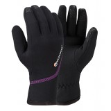 Montane Women's Power Stretch Pro Glove damehandske, Women's Power Stretch Pro Glove damehandske, Black