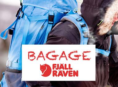 Se Fjällräven bagage - Eventyrsport webshop