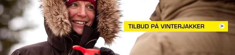 Tilbud Vinterjakker damer Eventyrsport Webshop