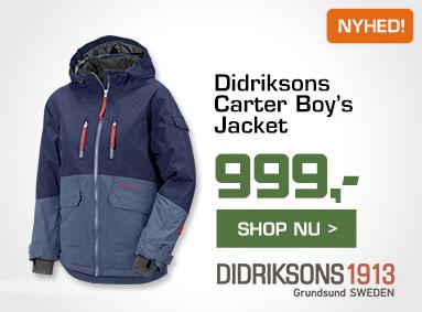 Carter Boy's Jacket i Eventyrsport