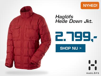 Haglöfs Hede Down Jacket Eventyrsport Webshop