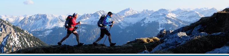 Udstyr til vandring i Eventyrsport