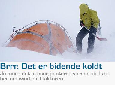 Wind chill faktor blog Eventyrsport