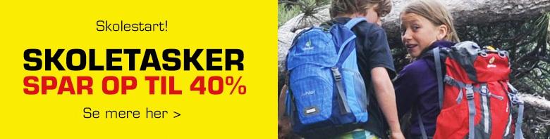 Tilbud på skoletasker i Eventyrsport
