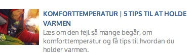 Eventyrsport blog - Komforttemperatur i soveposer, tips til at holde varmen, EN 13537