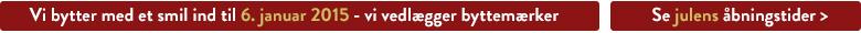 Åbent Jul 2014 Eventyrsport Webshop