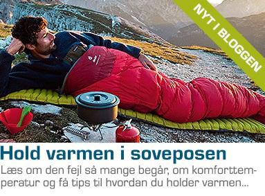 Komforttemperatur og tips til en varmere sovepose